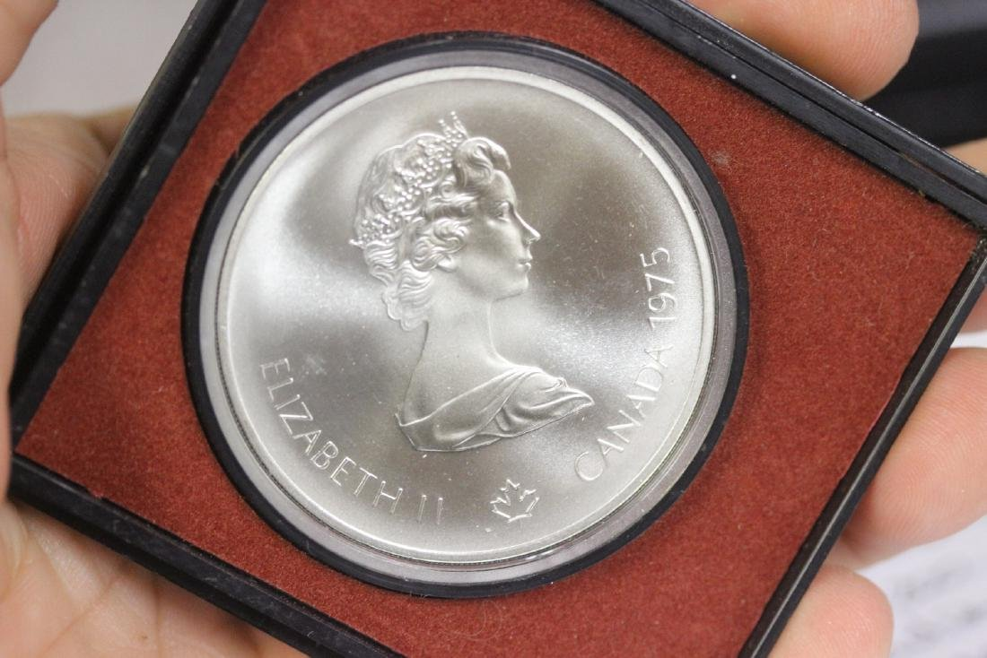 A 1975 Queen Elizabeth or 1976 Olympic Sterling Silver
