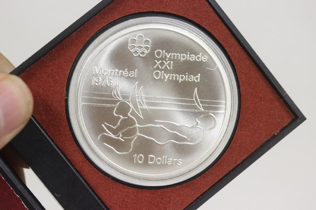 A 1975 Queen Elizabeth or 1976 Olympic Sterling Silver - 2