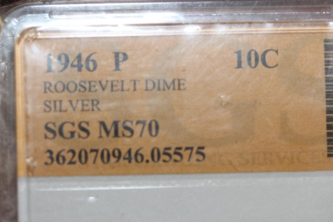 A 1946 P Roosevelt Dime - 4