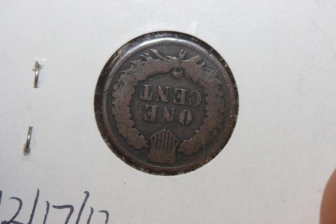 An 1876 Indian Head Penny - 2