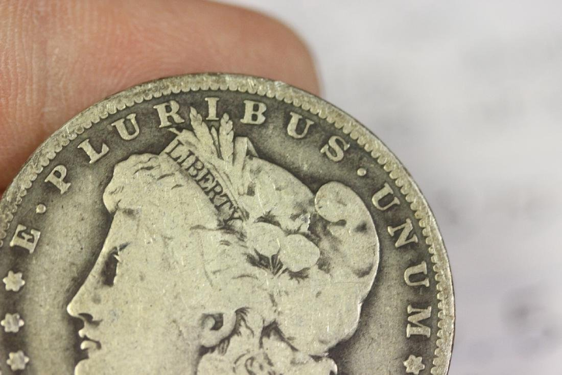 An 1890-O Morgan Silver Dollar - 6
