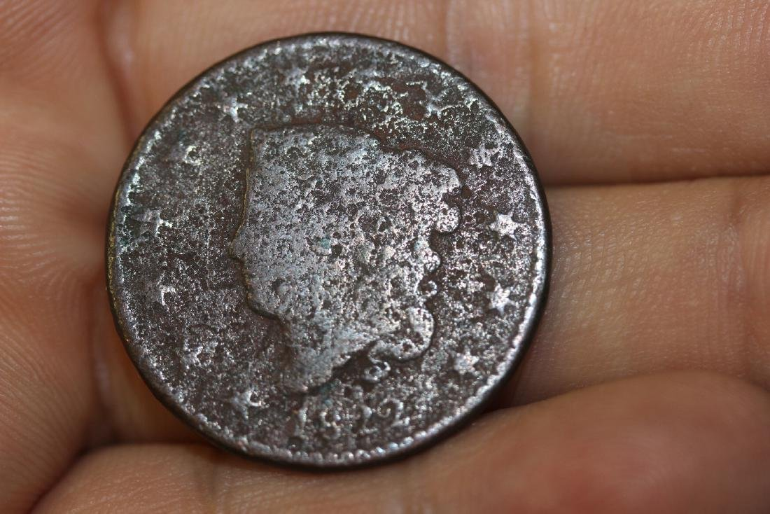 An 1822 Large One Cent