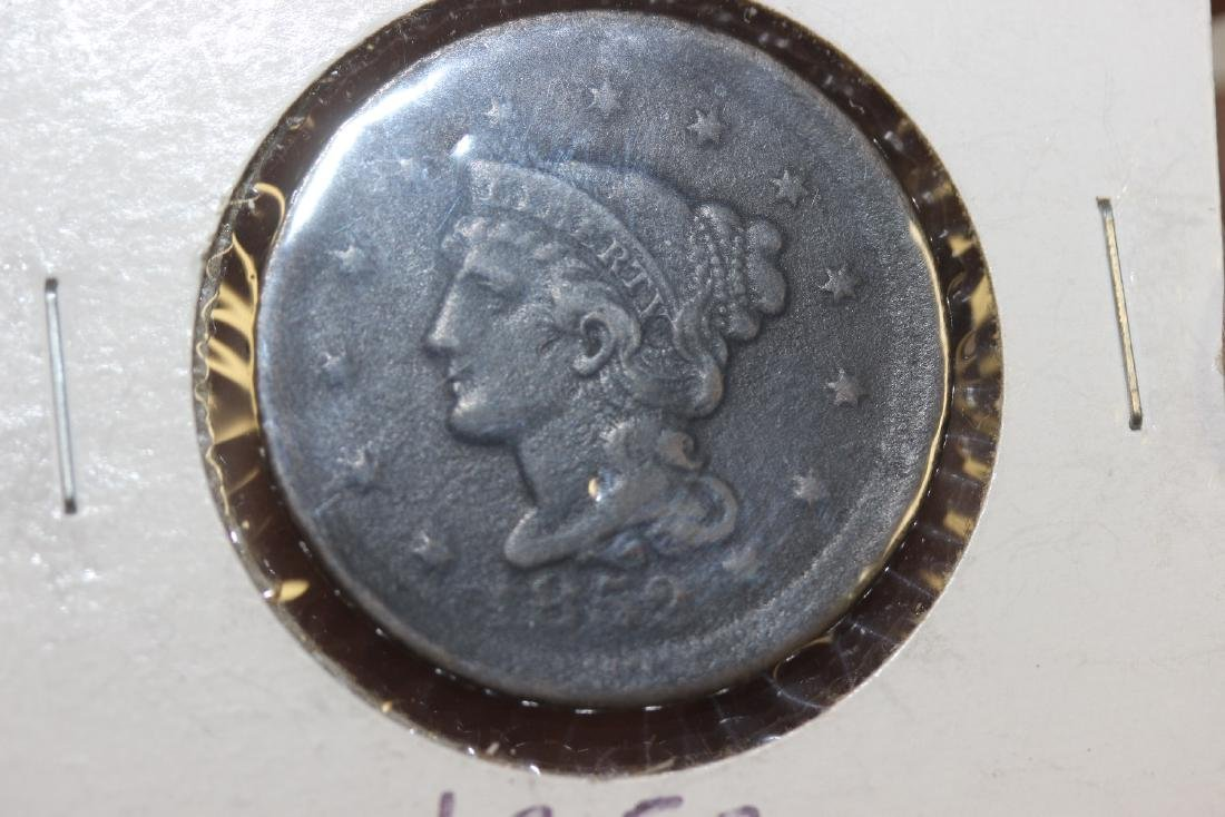 An 1852 Large Cent