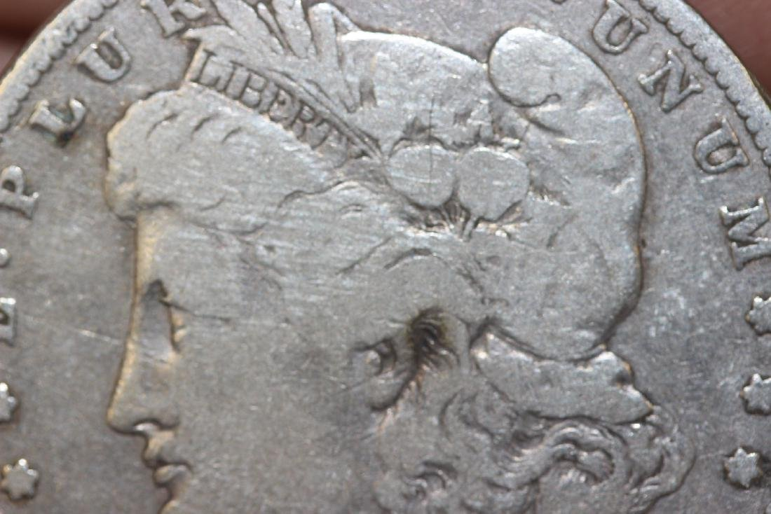 An 1881 Morgan Silver Dollar - 3