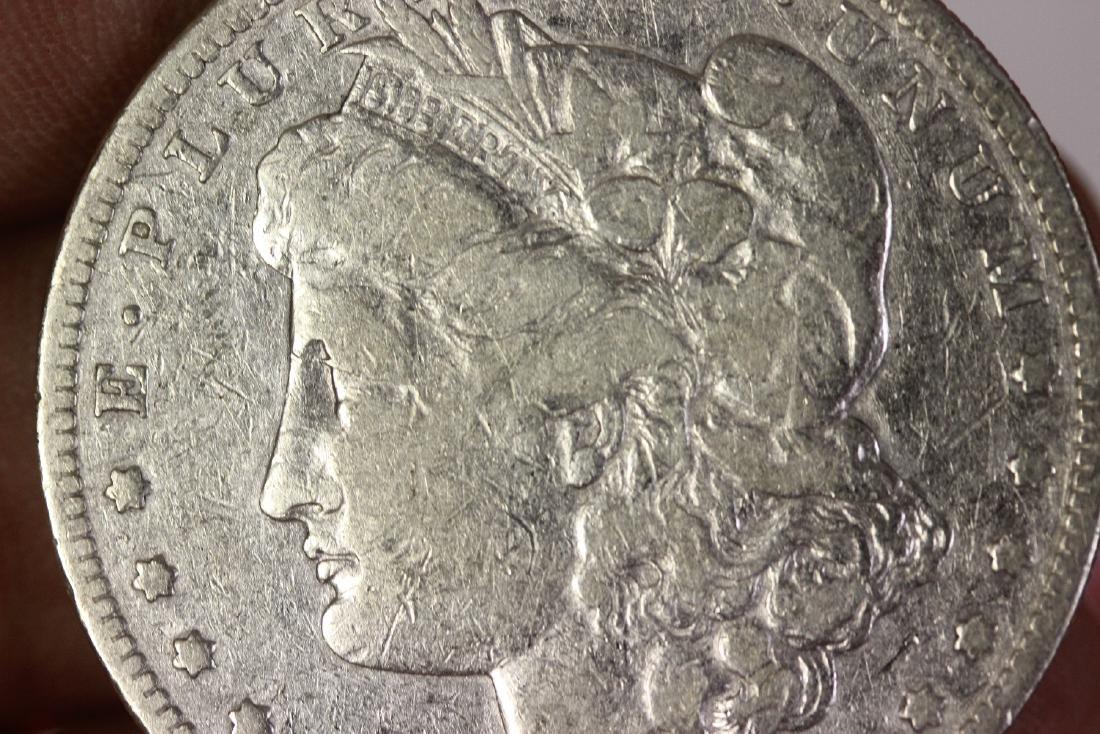 An 1881-s Morgan Silver Dollar - 3