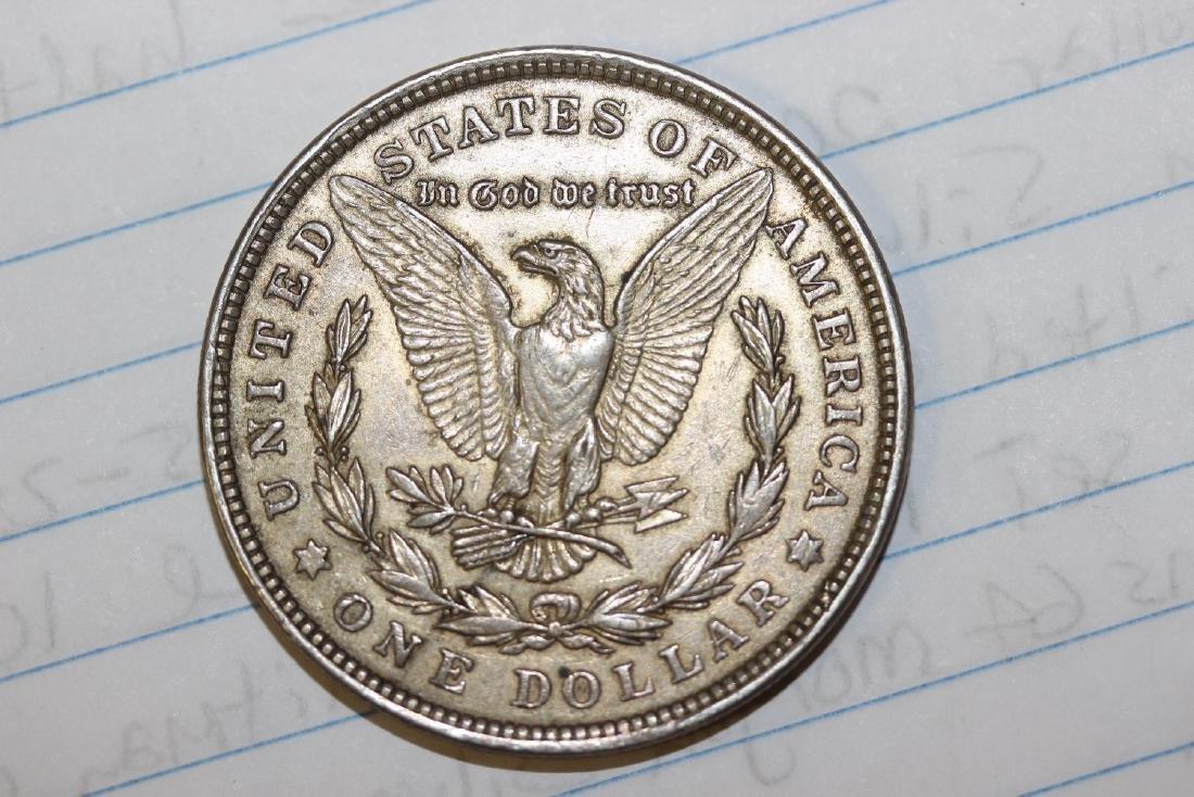 A 1921 Morgan Silver Dollar - 3