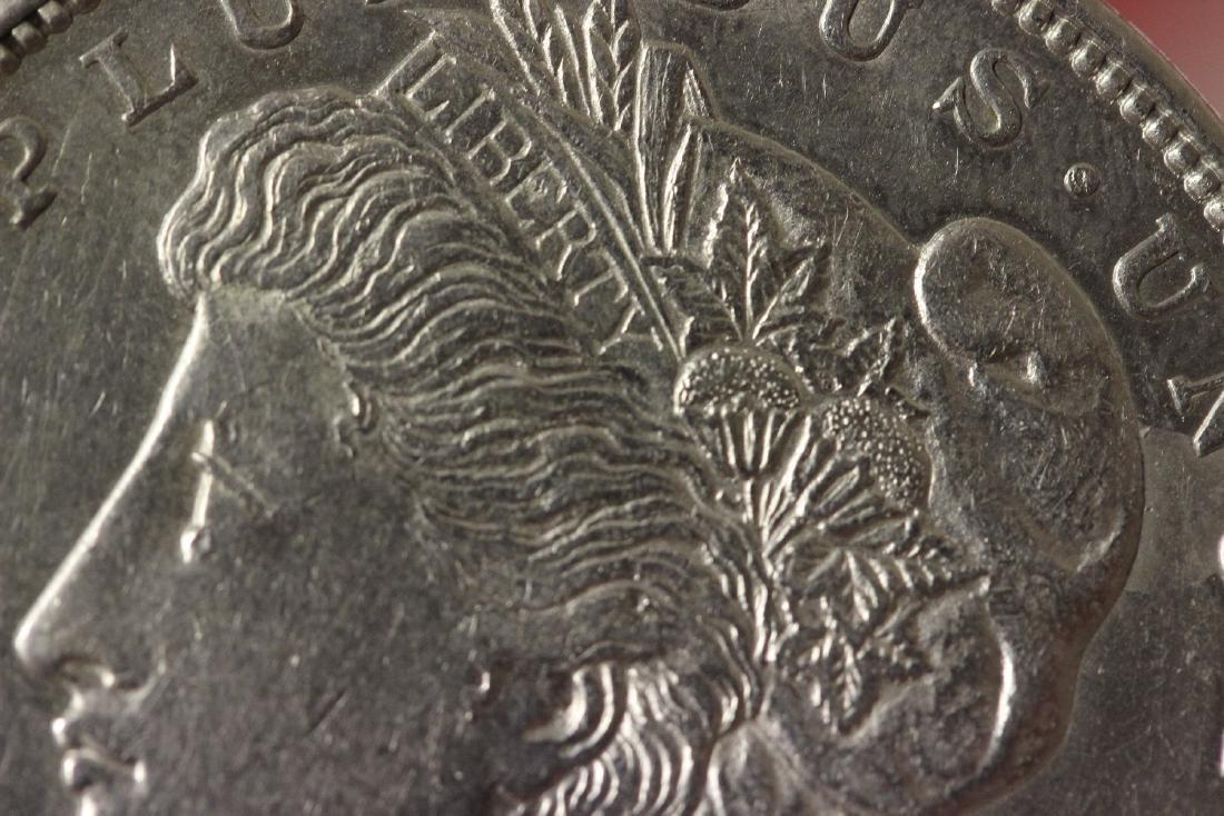 A 1921 Morgan Silver Dollar - 5
