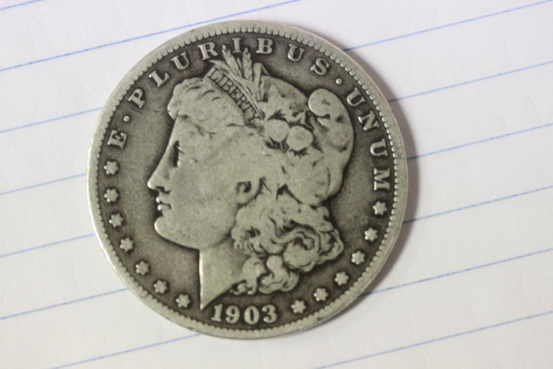 A Key Date 1903 S Morgan Silver Dollar
