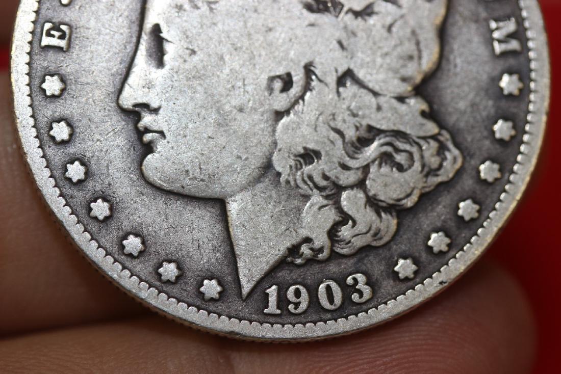 A Key Date 1903 S Morgan Silver Dollar - 6