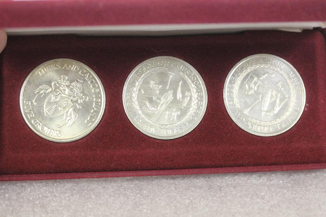 A 1992 O;ympic Games Coin Set