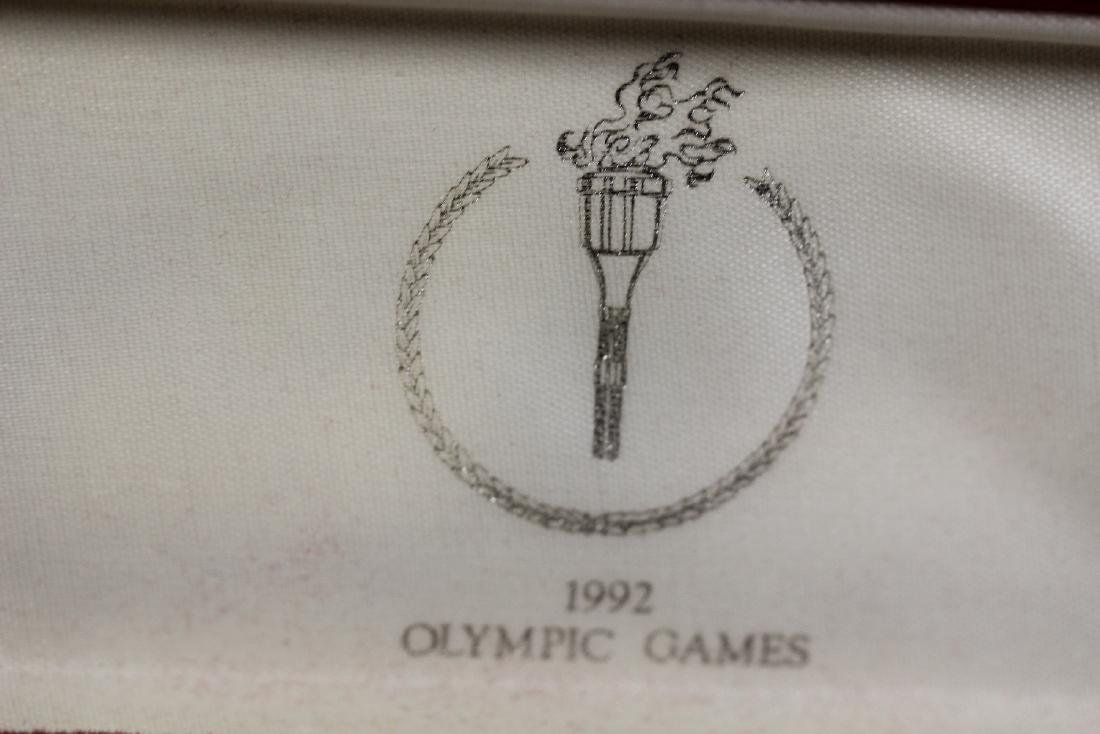 A 1992 O;ympic Games Coin Set - 2