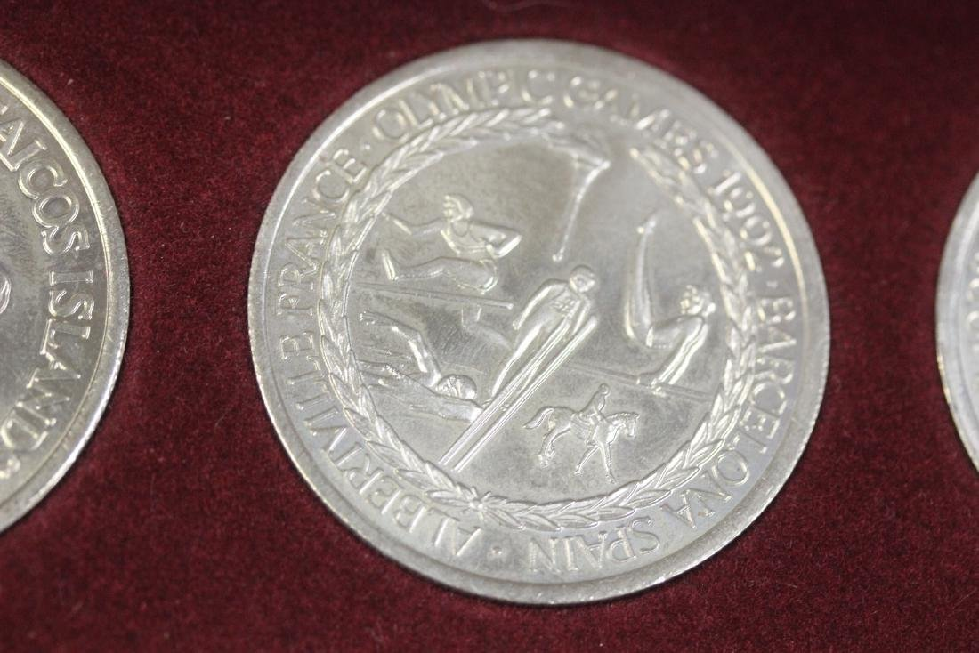 A 1992 O;ympic Games Coin Set - 4