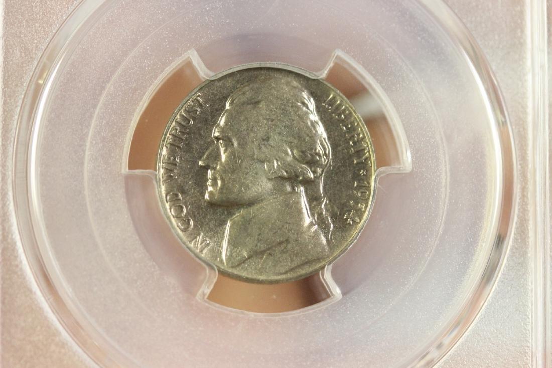 A Graded 1954 Jefferson Nickel - 4