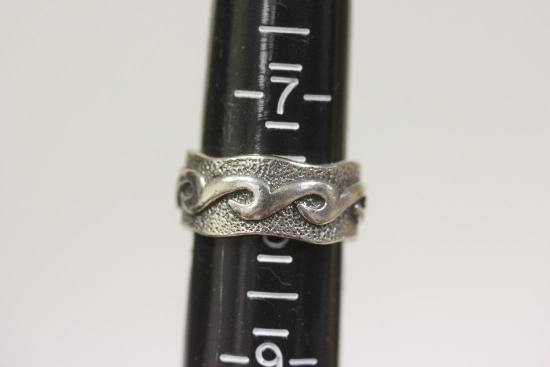 A Sterling Ring - 6