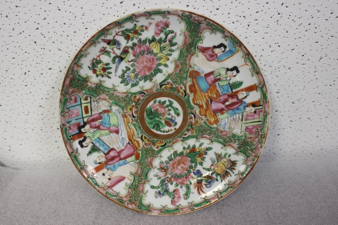 A Chinese Antique Rose Medallion Plate - 2
