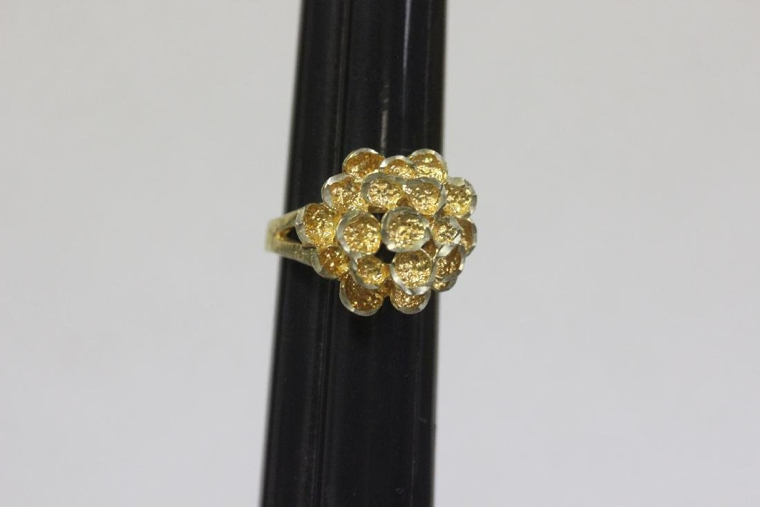 A Gold Plated or Sterling Ring