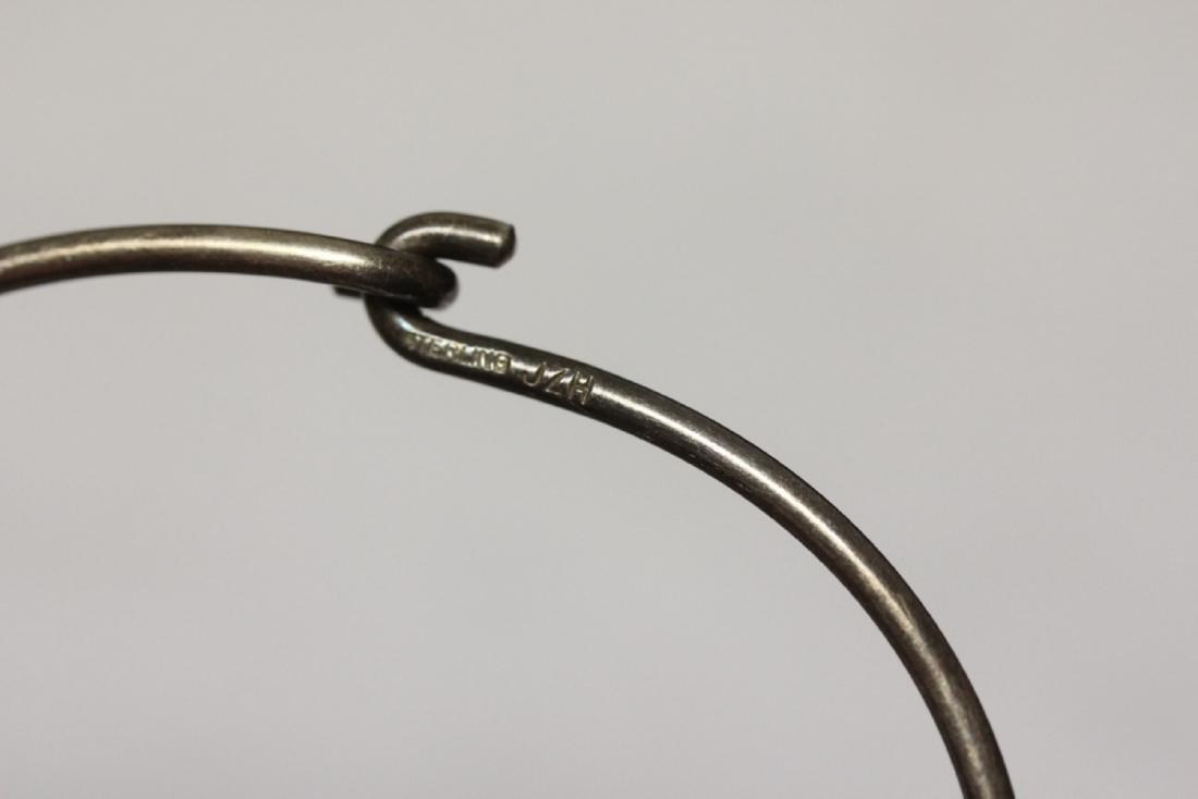 A Sterling Bracelet - 4