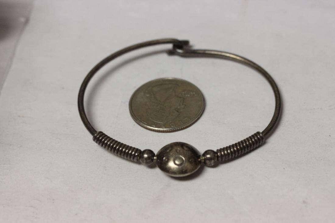 A Sterling Bracelet - 5