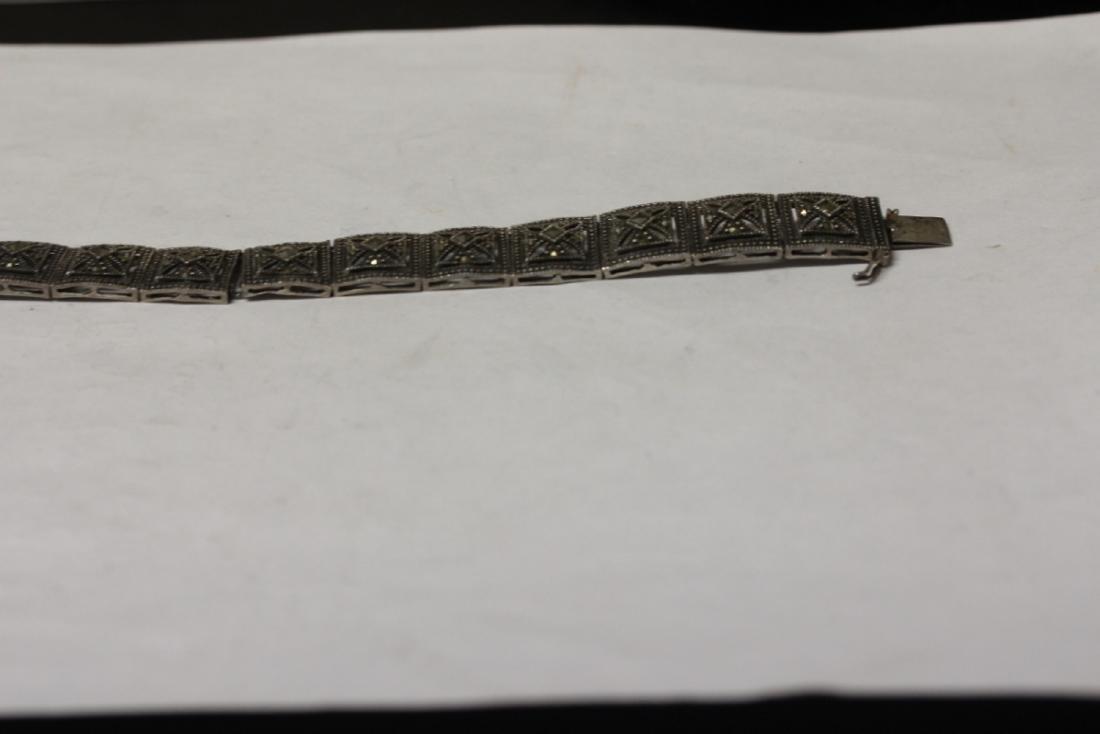 A Sterling Bracelet