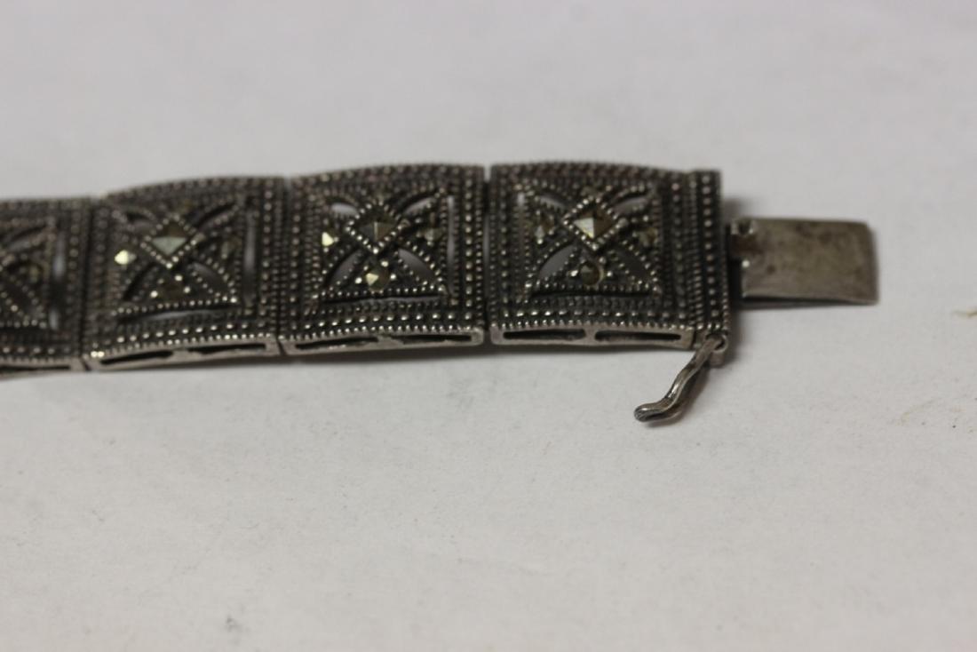 A Sterling Bracelet - 2