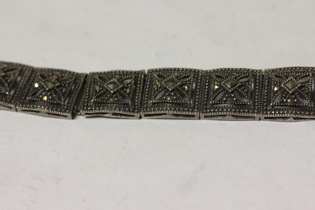 A Sterling Bracelet - 3