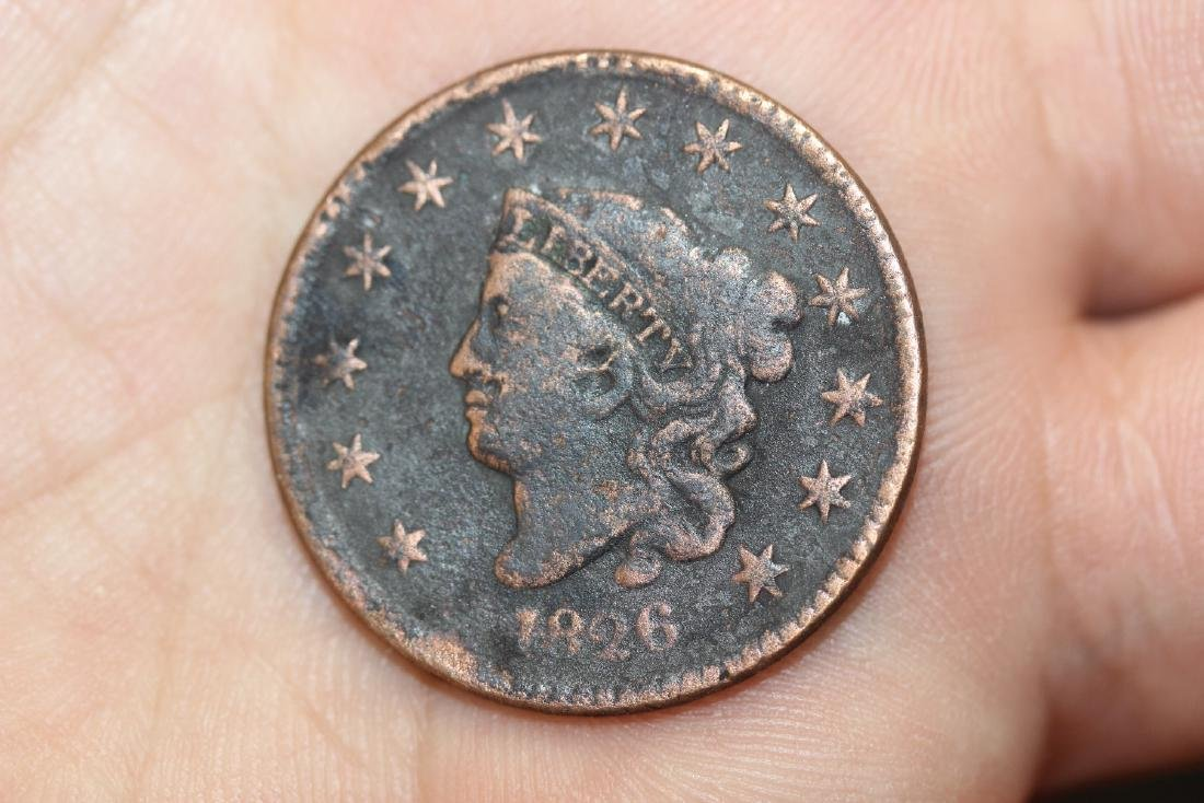 An 1826 Large Cent - 3