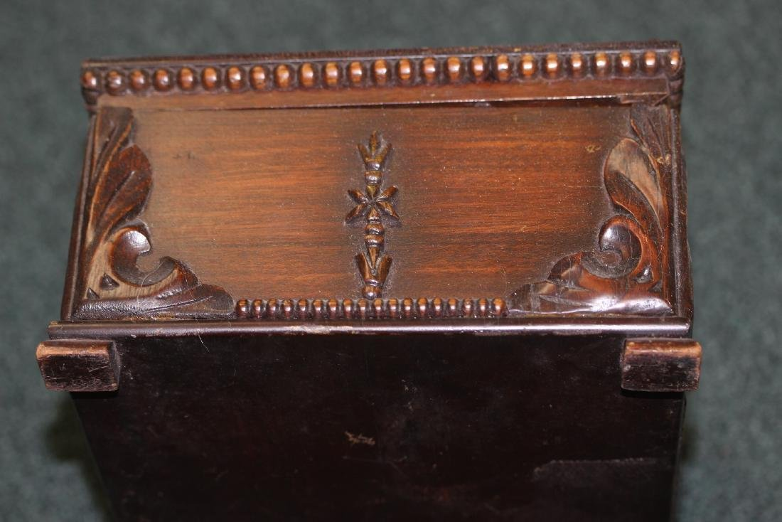 A Nicely Carved Wooden Box - 6