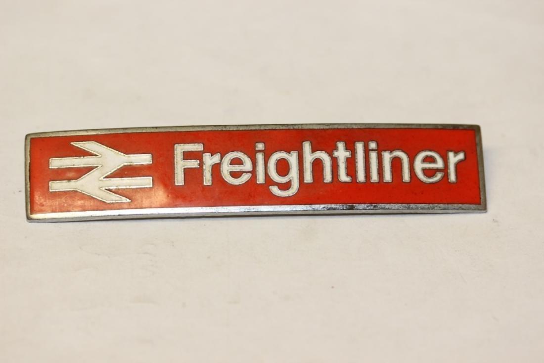A Vintage Freightliner Railroad? Badge