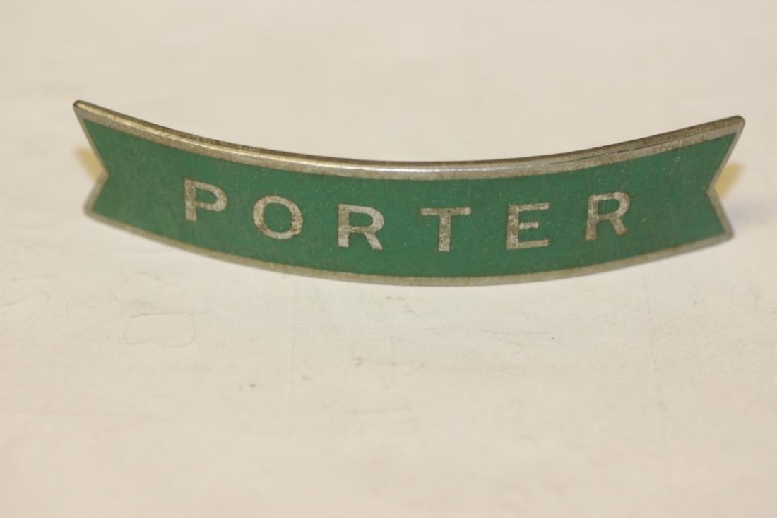 A Railroad Porter Badge