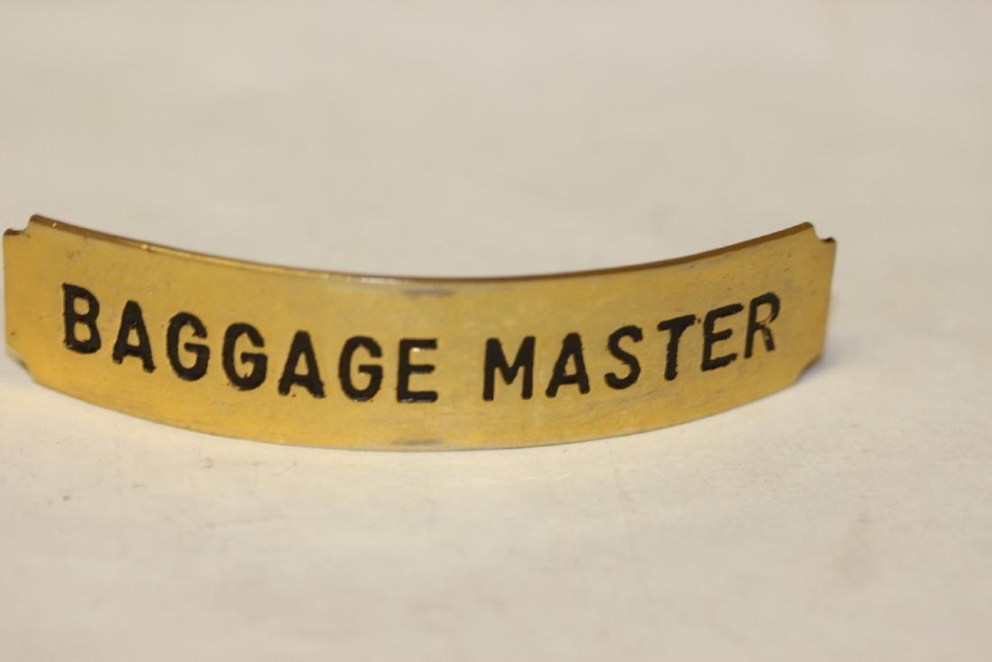 A Baggage Master Badge