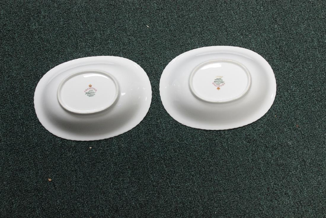 A Pair of German Franconia Oval Bowls - 2