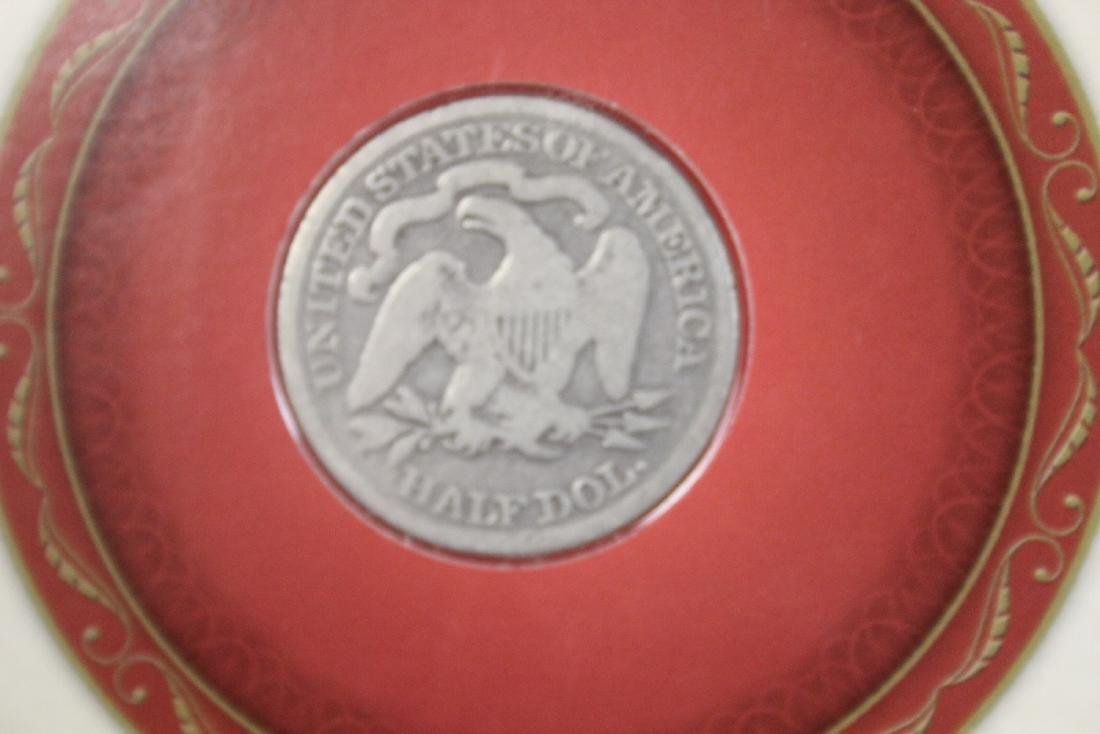 A Liberty Seated 50- cent Piece - 1872 - 3