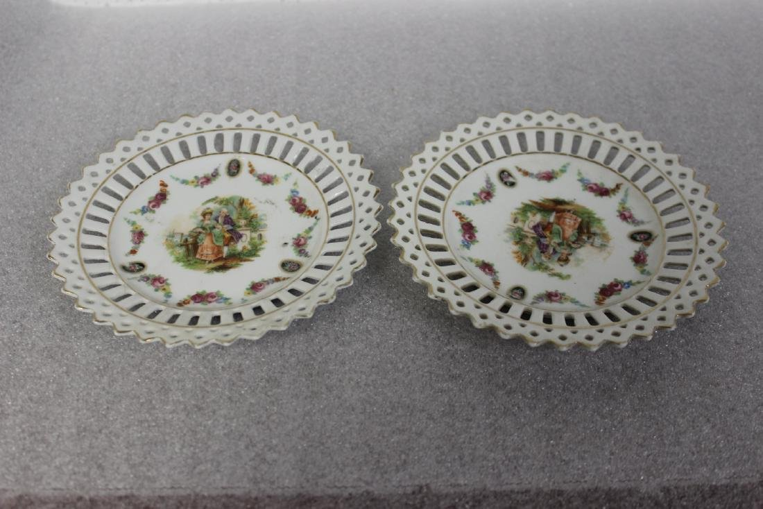 Set of Two German Small Plates
