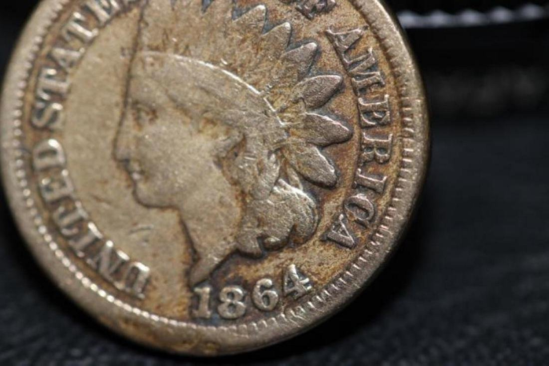 An 1864 One Penny - 6