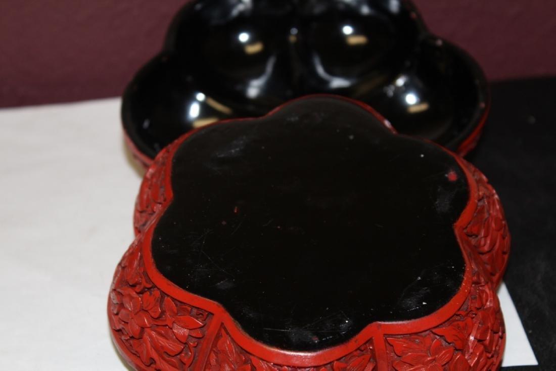 A Cinnabar Style Lacquer Box - 4