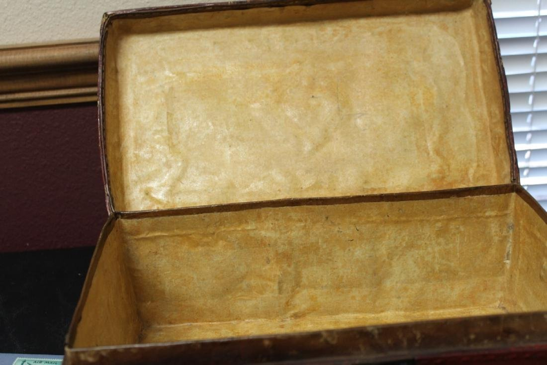 A Chinese Vintage Leather Box - 3