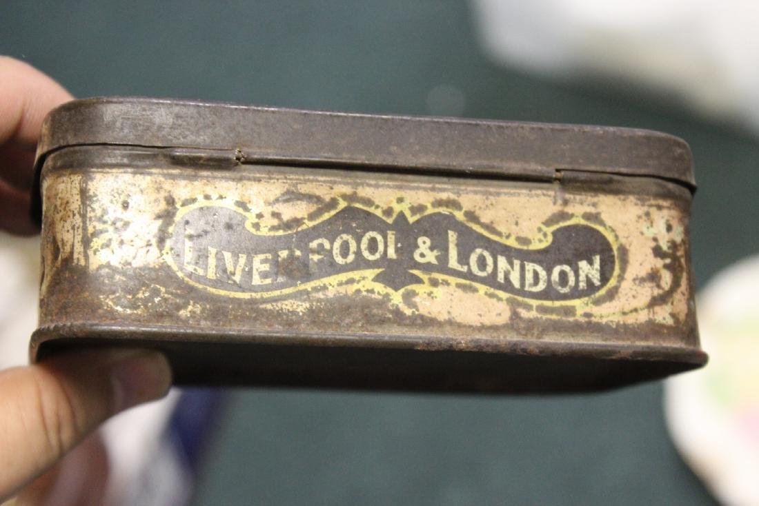 """A Vintage """"Bond of Union"""" Tobacco Tin - 6"""