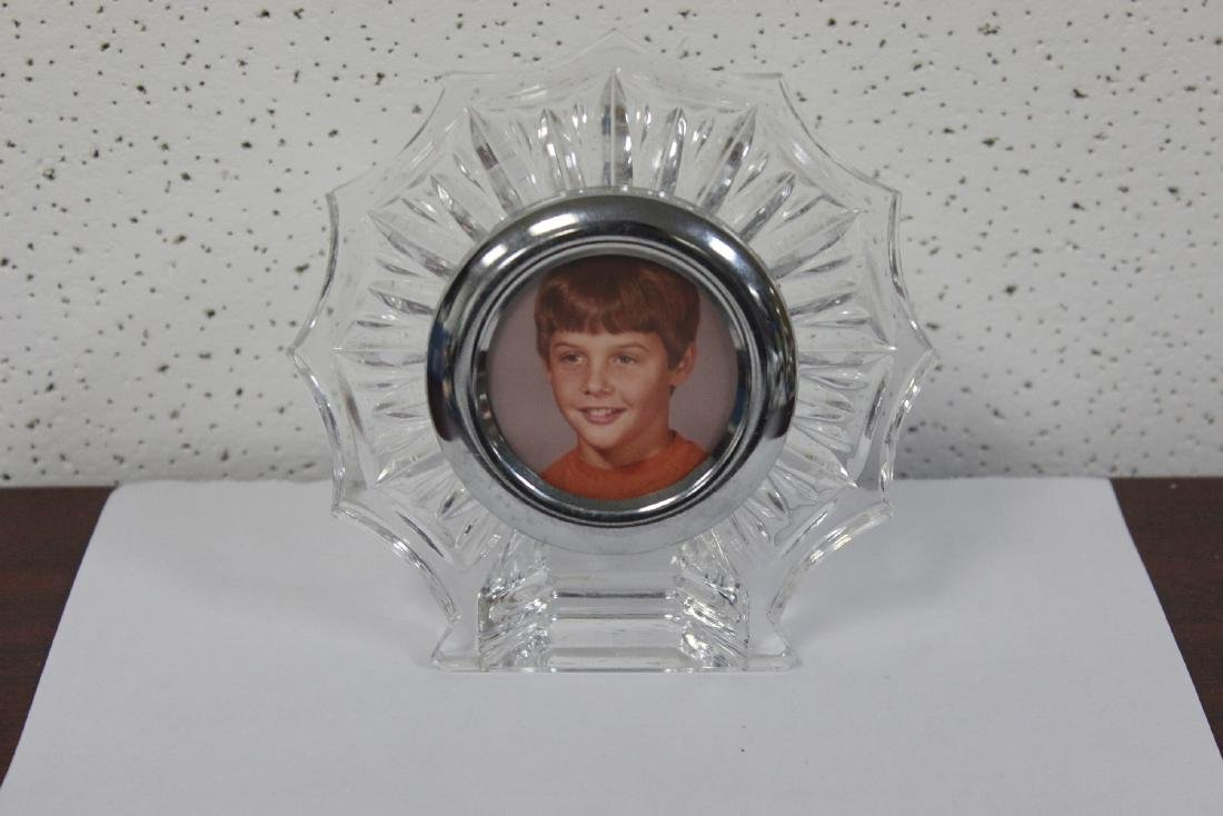 A Waterford Glass Picture Frame