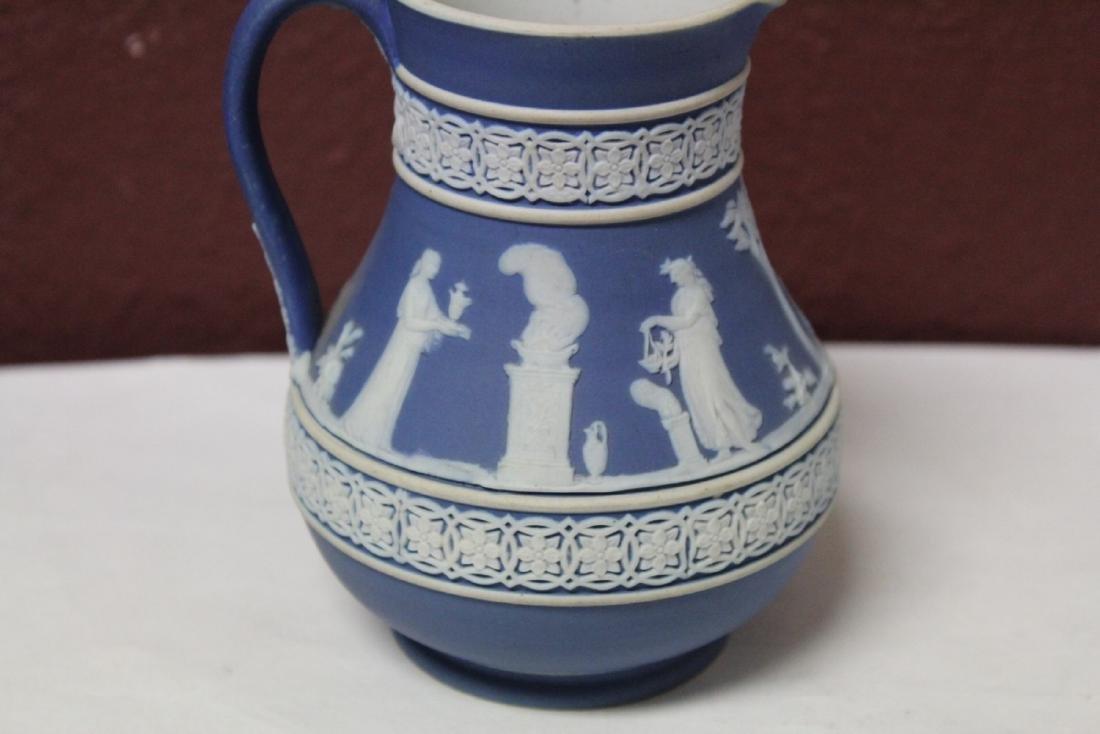 A Vintage Jasperware Wedgwood Pitcher - 2