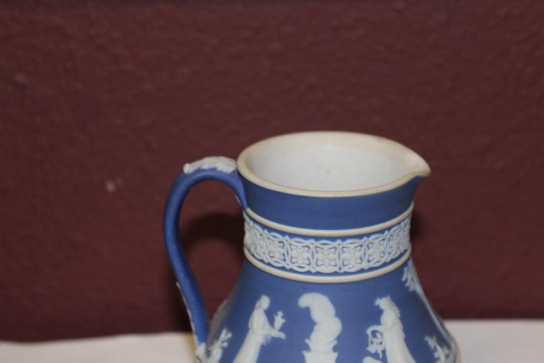 A Vintage Jasperware Wedgwood Pitcher - 3