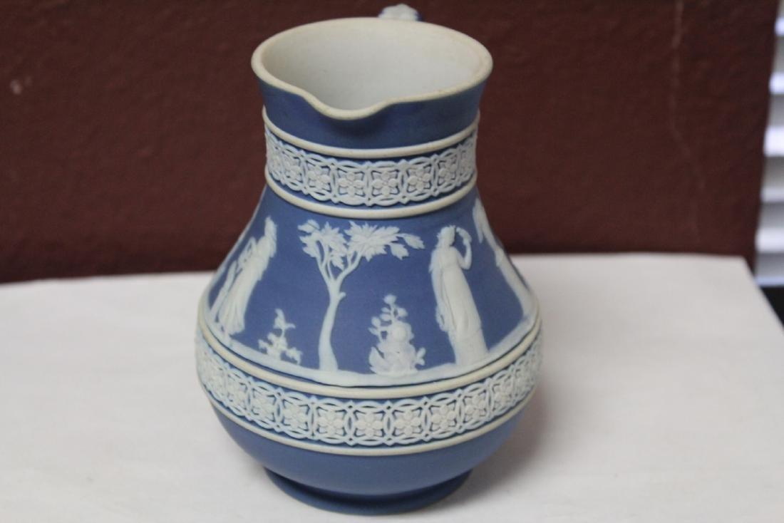 A Vintage Jasperware Wedgwood Pitcher - 4