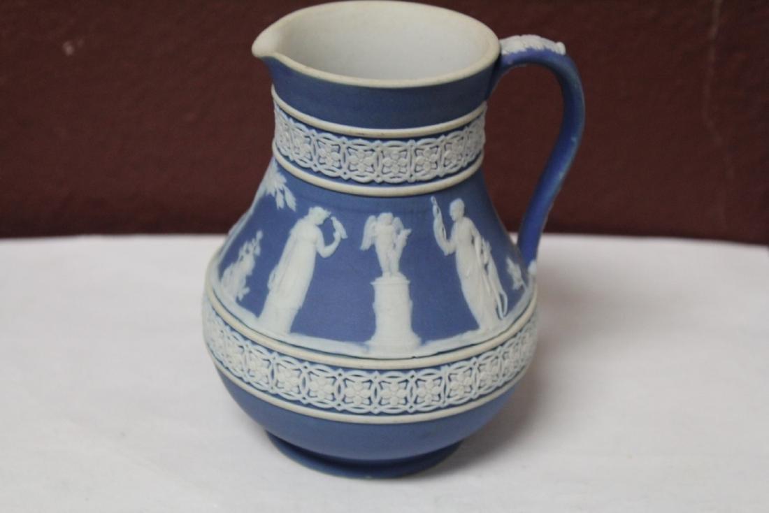 A Vintage Jasperware Wedgwood Pitcher - 5