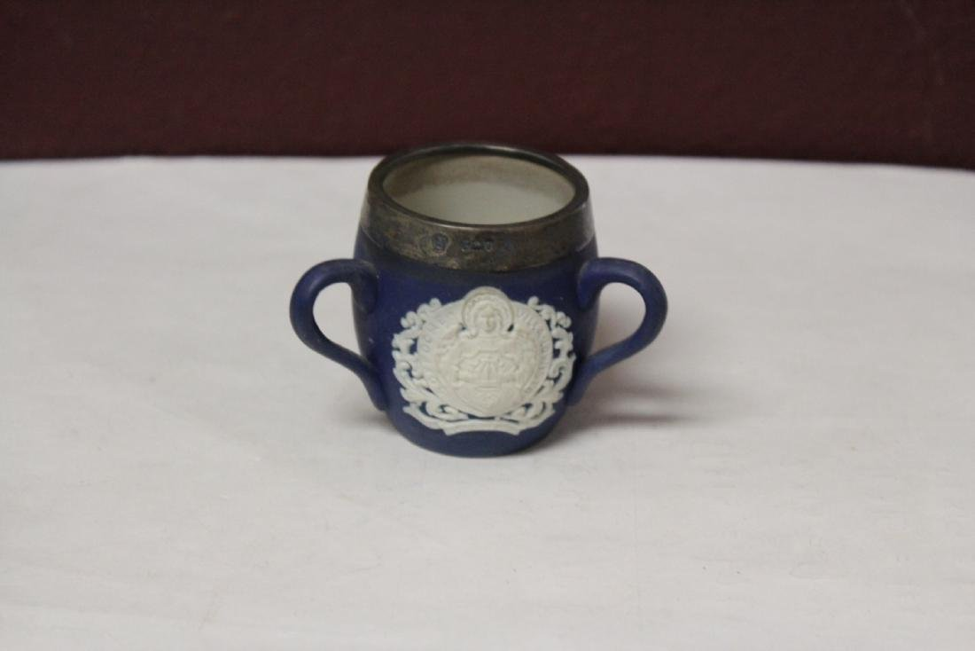 A Wedgwood Jasperware 3 Handle Small Cup