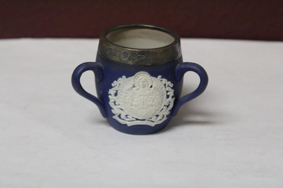 A Wedgwood Jasperware 3 Handle Small Cup - 2
