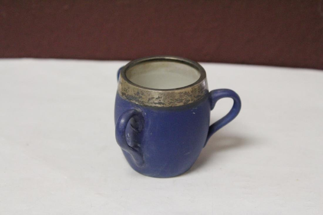 A Wedgwood Jasperware 3 Handle Small Cup - 3