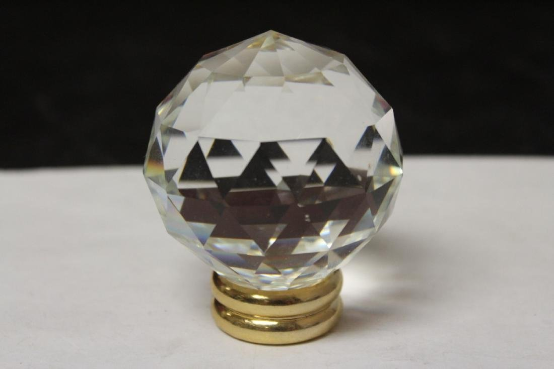A Crystal Ball on Stand