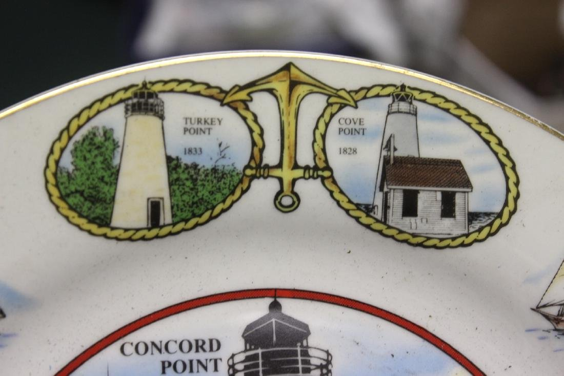 A Decorative Lighthouse Plate - 2
