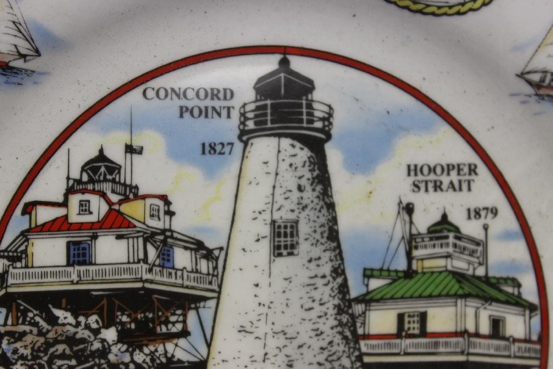 A Decorative Lighthouse Plate - 3