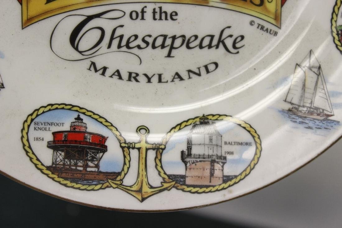 A Decorative Lighthouse Plate - 5