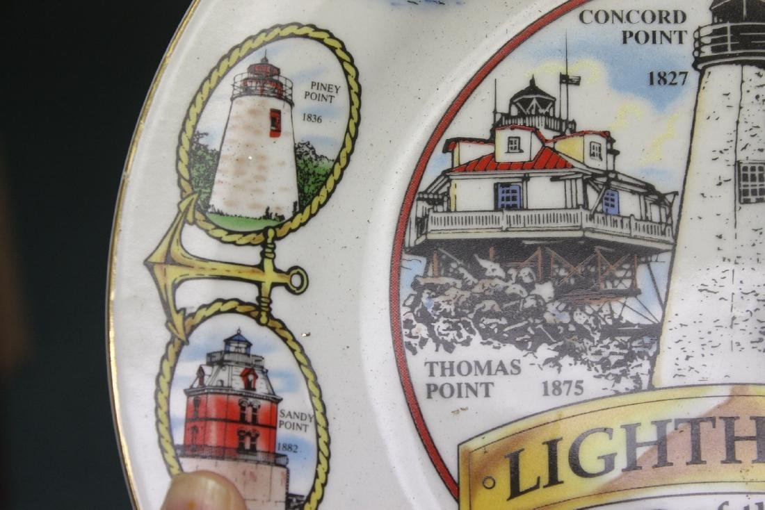 A Decorative Lighthouse Plate - 7